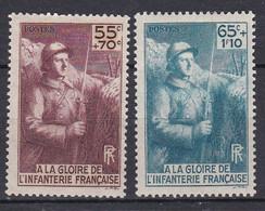 France TUC De 1938 YT 386-387  Neufs - Unused Stamps