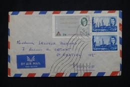IRAN - Enveloppe Pour La France, Affranchissement Shah D'Iran - L 98009 - Iran