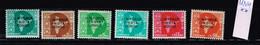 India 1962 - U.N. Force In Congo  Overprints Mi 1-6 ** MNH  # 5501-1 - Military Service Stamp