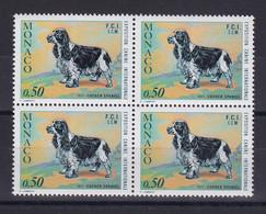 D 168 / MONACO / N° 862 BLOC DE 4 NEUF** COTE 14€ - Verzamelingen & Reeksen