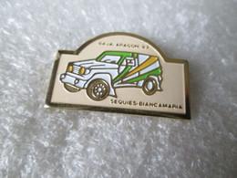 PIN'S       RALLYE    BAJA  ARAGON 93   SEQUIES  BIANCAMARIA  TOYOTA - Rallye