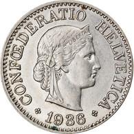 Monnaie, Suisse, 10 Rappen, 1936, Bern, TTB, Nickel, KM:27b - Switzerland