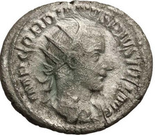 Monnaie, Gordien III, Antoninien, 242, Roma, TTB/TB+, Billon, RIC:93 - 5. The Military Crisis (235 AD To 284 AD)