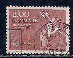 DANEMARK   N°   752   OBLITERE - Usado