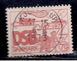 DANEMARK   N°   537   OBLITERE - Usado