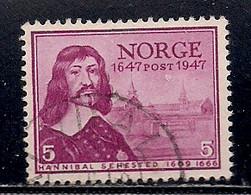 NORVEGE    N°   293   OBLITERE - Used Stamps