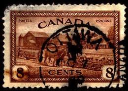 Canada 1946 Mi 235 Eastern Farm Scene - Usados