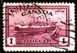 Canada 1946 Mi 240 Abegweit (Train Ferry) (1) - Usados