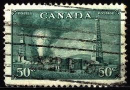 Canada 1950 Mi 261 Oil Wells In Alberta - Usados