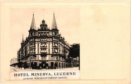 Suisse - Lucerne - Hôtel Minerva - LU Lucerne