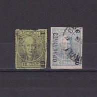 MEXICO 1868, Sc #59-61, Part Set, Used - Mexique