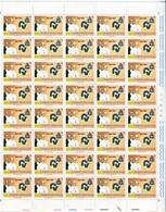 Vaticano (1981) - 50º Anniversario Della Fondazione Della Radio Vaticana, In Fogli Di 40 ** - Unused Stamps