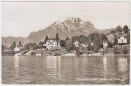 Carte Photo -  Hotel Kastanienbaum , Luzern Mit Pilatus - LU Lucerne