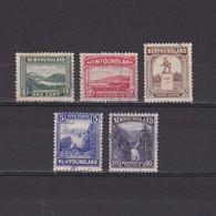 NEWFOUNDLAND CANADA 1923, SG# 149-157, Part Set, Used - 1908-1947