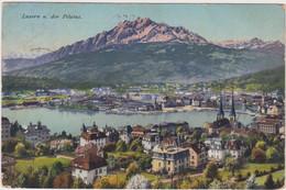 Luzern U. Der Pilatus - 1911 - LU Lucerne