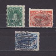 NEWFOUNDLAND CANADA 1887, SG# 50-53, Part Set, Used - 1865-1902
