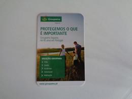 Insurance Assurances Seguros Groupama Portugal Portuguese Pocket Calendar 2016 - Small : 2001-...