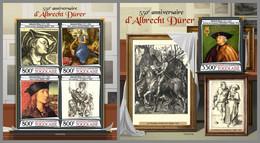 TOGO 2021 MNH Albrecht Dürer Paintings Gemälde Peintures M/S+S/S - OFFICIAL ISSUE - DHQ2120 - Sonstige