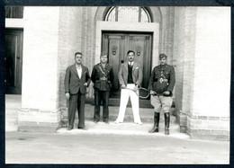 Foto, Basra,um 1925 ?, Basrah, Hohes Militär, Tennis-Spieler, Schatt Al-Arab, Original, - Iraq