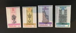 (stamp 13-5-2021)  Tokelau (4 Stamps) Mint - Tokelau