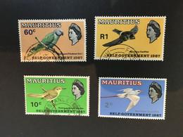 (stamp 13-5-2021)  Mauritius (4 Stamps) - Mauricio (1968-...)