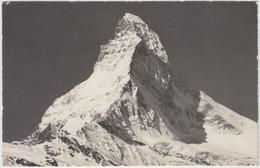 Carte Photo - Zermatt - Matterhorn 4477 M - 1968 - VS Valais