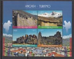 2017  Peru Ancash Tourism Souvenir Sheet   MNH - Peru
