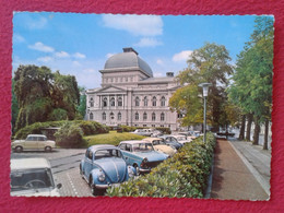 POST CARD ALEMANIA GERMANY OLDENBURG OLDEMBURGO STAATSTHEATER COCHES VOLKSWAGEN ESCARABAJO ? BEETLE ? AUTOS AUTOMÓVILES. - Oldenburg