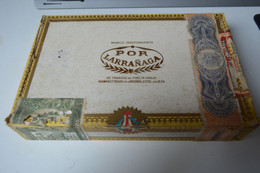 Rare Boite En Bois à Cigares Marque Por Larranaga  Cuba   Format 21 X 14 X 4 Cm - Other
