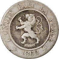 Monnaie, Belgique, Leopold I, 10 Centimes, 1862, TB+, Copper-nickel, KM:22 - 04. 10 Centimes