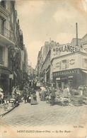 SAINT CLOUD - La Rue Royale, Le Marché. - Saint Cloud