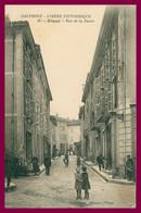 VINAY - Rue De La Faure - Très Animée - Edit. GUILLEMAUX - 1931 - Vinay