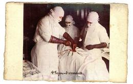 DR AOYEN  - L APPENDICITE   -  PHOTO COLLEE SUR UN SUPPORT CARTE POSTALE - Health