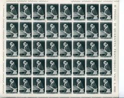 Vaticano Vaticano - 1964 - Pellegrinaggio Di Paolo VI In Terrasanta, In Fogli Di 40 ** - Unused Stamps