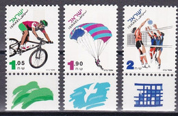 Israel 1996 - Mi.Nr. 1362 - 1364 - Postfrisch MNH - Sport - Unused Stamps (with Tabs)