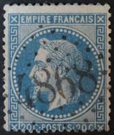 29B Obl BUREAU SUPPLEMENTAIRE GC 4868 La Bernerie (42 Loire Inférieure ) Ind 17 - 1849-1876: Periodo Clásico