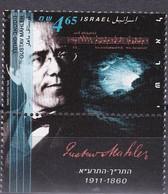 Israel 1996 - Mi.Nr. 1365 - Postfrisch MNH - Musik Music Musique Gustav Mahler Komponist Composer - Unused Stamps (with Tabs)