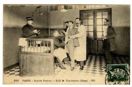 PARIS  INSTITUT PASTEUR  SALLE DE VACCINATION  - RAGE - Health
