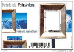 ANDORRA FRANCESA 2012 - BLOC EUROPA - VISIT ANDORRA - BLOCK  - YVERT Nº 724 - Nuevos