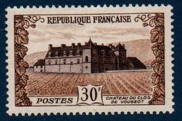 FR 1951  Château Du Clos De Vougeot   N°YT 913 ** MNH - Ohne Zuordnung