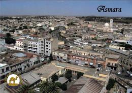 1 AK Eritrea * Blick Auf Die Hauptstadt Asmara - Luftbildaufnahme * Die Stadt Ist Seit 2017 UNESCO Weltkulturerbe * - Eritrea