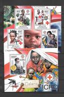 TIMBRES NEUFS DE CENTRAFRIQUE DE 2012 N° MICHEL 3592/96 ICRC - Red Cross