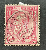 Leopold II OBP 46 - 10c Gestempeld EC CRUYSHAUTEM - 1884-1891 Leopoldo II