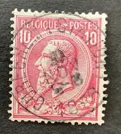 Leopold II OBP 46 - 10c Gestempeld EC CUREGHEM STATION - 1884-1891 Leopoldo II