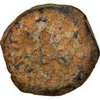 Monnaie, Judée, Herodians, Agrippa I, Prutah, RY 6 (41/42 AD), Jerusalem, B - Greek
