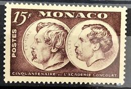 Monaco 1951, Poste, N° 352, Timbre Splendide, Neuf, Luxe, Sans Trace De Charnière - Ungebraucht