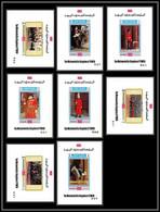 Yemen Royaume (kingdom) - 4174z/ N°1016/1023 Philympia 70 London 1970 Neuf ** MNH Deluxe Miniature Sheets Horse Guards - Philatelic Exhibitions