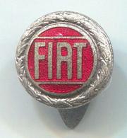 FIAT - Car, Auto, Automotive, Button Hole, Enamel, Vintage Pin, Badge, Abzeichen - Fiat