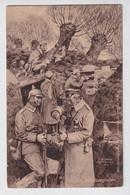 IM SCHÜTZENGRABEN  18 DEC 1915   1915   FELDPOSTKARTE  2 SCANS - Oorlog 1914-18