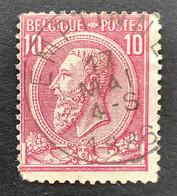 Leopold II OBP 46 - 10c Gestempeld EC EMPTINNE - 1884-1891 Leopoldo II